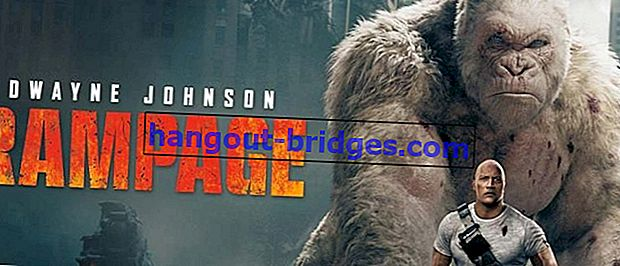 위험한 거대 동물의 공격 영화 램 페이지 (2018)를보십시오
