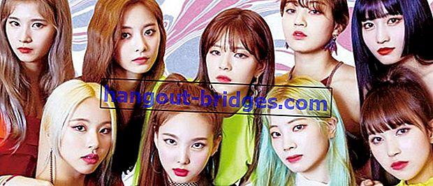 Kumpulan K-Pop DUA kali Ahli Biodata | Foto, Profil, Biodata, Fakta Unik