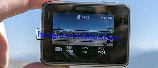 Berikut adalah 4 Aplikasi Kamera Seperti GoPro Di Android Anda