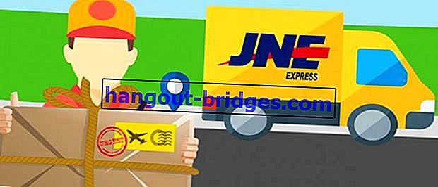วิธีการติดตามการจัดส่งพัสดุภัณฑ์ JNE สามารถไม่มีใบเสร็จ!