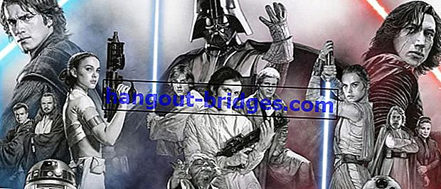 Séquence de films Star Wars correcte basée sur des années, histoire de trois générations de Skywalker!