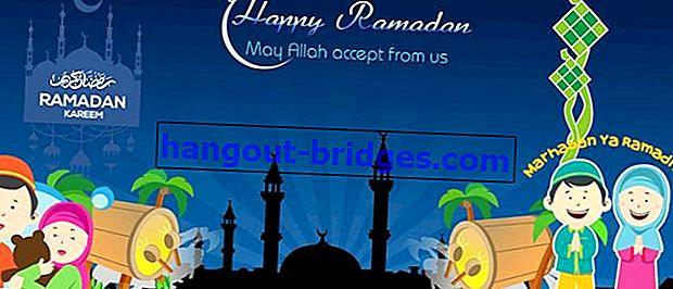 라마단 2019을 앞두고 금식 축하 컬렉션