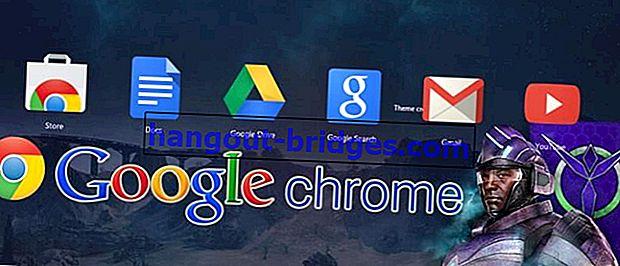 Cara Mudah Mengubah Tema Google Chrome sesuka hati, 100% Percuma!