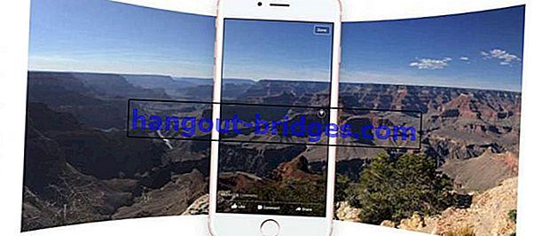Sejuk! Inilah Cara Membuat Foto 360 Derajat Dan Kirimkannya ke Facebook