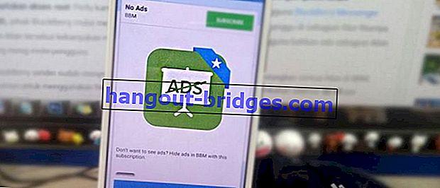 วิธีกำจัด Ads บน BBM Android ฟรีโดยไม่ต้องรูท