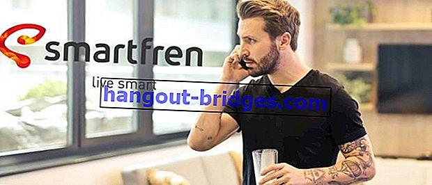 最新のSmartfren通話料金2020の完全なリスト