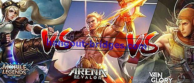 Mobile Legends VS VainGlory VS AOV, Quale è meglio?