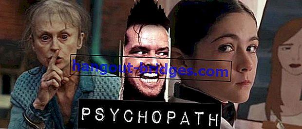 25 Filem psikopatik terbaik dan paling sadis, tidak tidur nyenyak!