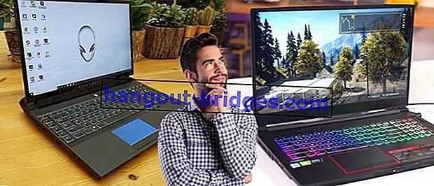 7 Laptop dengan Skrin Terbesar Pada masa ini, Minimum 17 Inci!