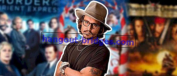 10 migliori consigli sul film Johnny Depp | No. 3 lo fa toccare!