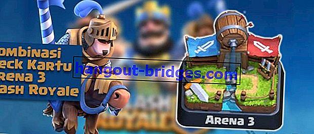 Kad Kombinasi Arena Terbaik (Battle Deck) 3 Clash Royale