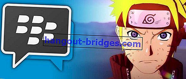 Androidで最新のBBM Mod Narutoテーマを使用する方法