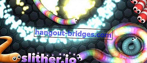 กลโกงและเล่ห์เหลี่ยมในการเล่น Slither.io