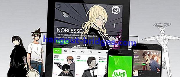 5 Aplikasi Membaca Webtoon Percuma di Android | Ramai Webtoonists Indonesia Terkenal!