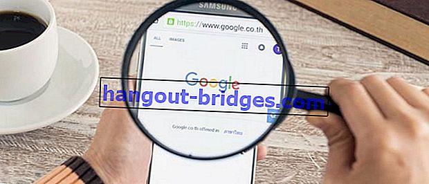วิธีง่ายๆในการค้นหาไฟล์ที่มีรูปแบบเฉพาะบน Google