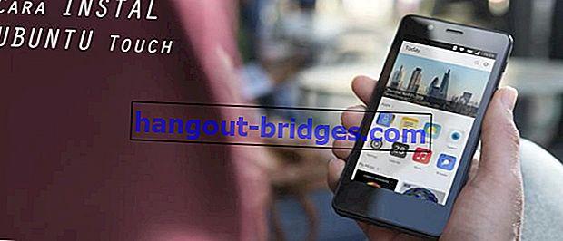 Begini Cara Instal OS Ubuntu Touch di Smartphone Android Kamu