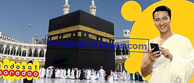 最新のIndosat Hajj&Umrahパッケージ2019(インターネットおよび電話)の完全なリスト