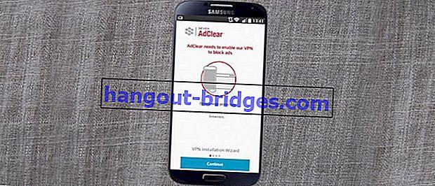 Kaedah Baru untuk Menghilangkan Iklan di Android tanpa Root
