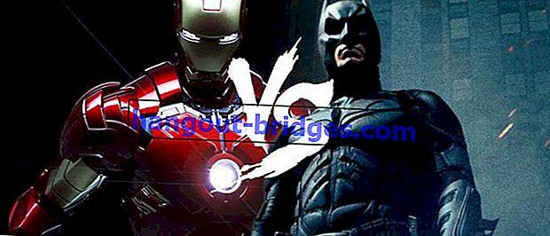 Batman vs Iron Man: bataille épique entre deux super-héros Tajir, qui est plus supérieur?