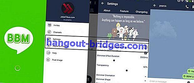 BBM MOD LINE: Tukar Paparan BBM Android menjadi Seperti LINE