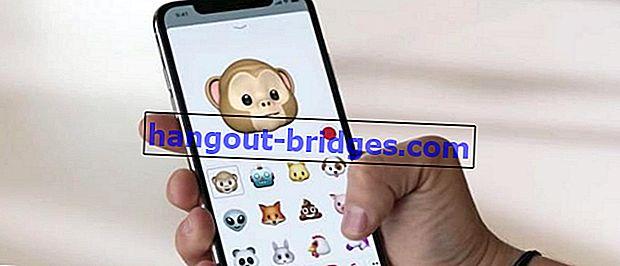 Cara menggunakan animoji iPhone X pada semua Android