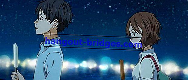 片手に拍手する愛の物語を語る7つのアニメ、本当に痛い!