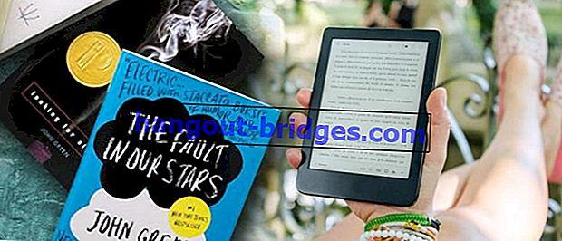 10 applications pour lire les meilleurs romans en ligne 2020 (B. indonésien et anglais), gratuit!