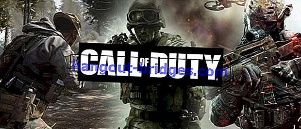 7 Permainan Call of Duty Franchise Terbaik, Mana Kegemaran Anda?