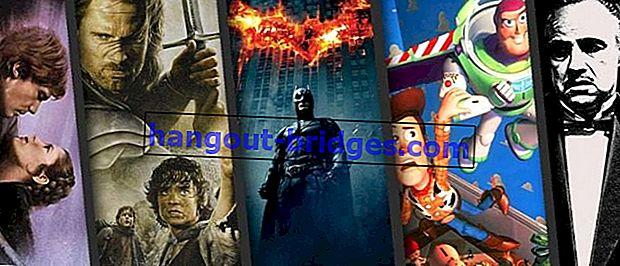 7 La migliore trilogia cinematografica di tutti i tempi che devi guardare, non annoiarti!
