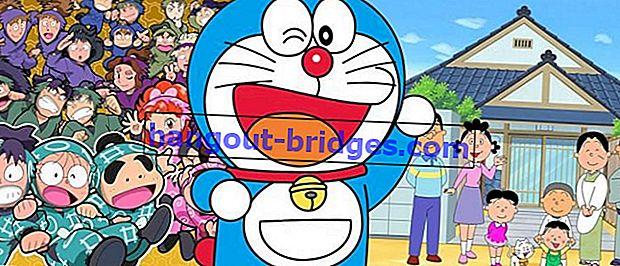 7 Anime dengan Episod Terbanyak, Bubur Congee Haji Kehilangan Sepenuhnya!