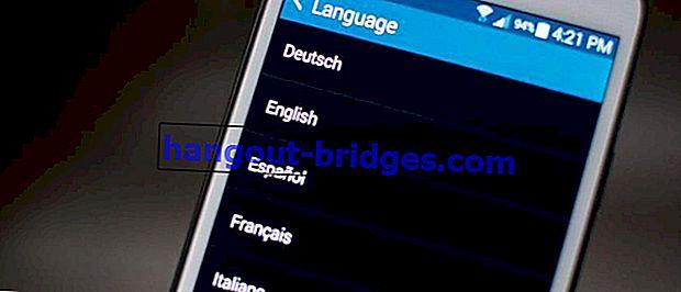 Cara Mengubah Bahasa dalam Aplikasi Android ke Semua Bahasa di Dunia