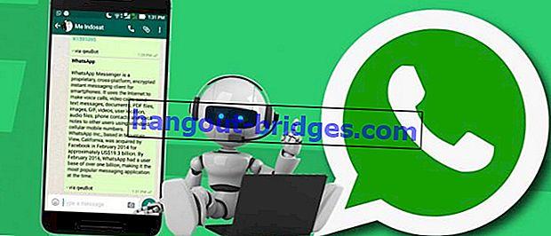 Cara Menggunakan Robot Lanjutan di WhatsApp Android