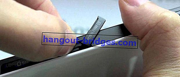 Kaedah Mudah Menukar MicroSD Ke Memori Dalaman