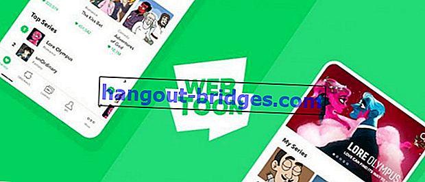 20 Laman dan Aplikasi Komik Dalam Talian Terbaik, Baca Percuma!