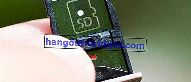 Cara Memasang Kad SIM dan Mikro SD Secara Serentak pada Telefon Pintar Hybrid Slot
