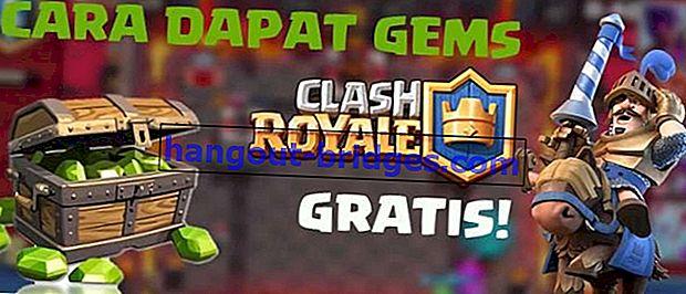 Cara mendapatkan Gems Clash Royale secara percuma tanpa kad kredit