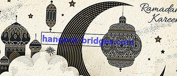 70+ Tahniah Puasa Ramadhan 2020, Hantar Sekarang Ayuh!