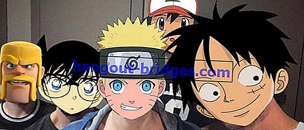 Auto Wibu! Ini adalah Aplikasi Penyuntingan Foto untuk Menjadi Karakter Anime