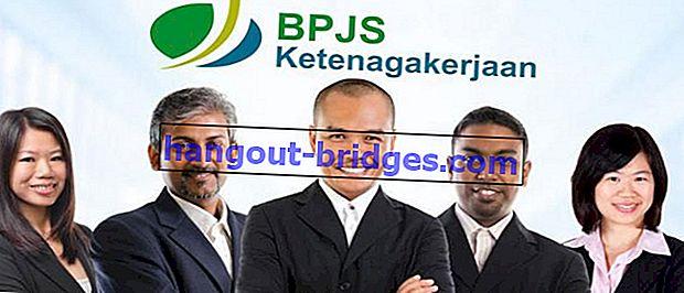 ที่นี่ 4 ประเภทของโปรแกรมการจ้างงาน BPJS ที่คุณต้องรู้