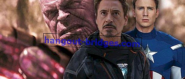 Petikan Terbaik dari Marvel Cinematic Universe Films, Buat IG Caption!
