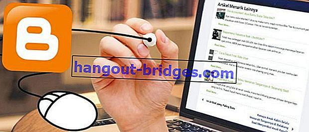 Cara Membuat ARTIKEL MENARIK Di bawah Catatan Blogger