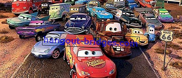 Tonton Filem Kereta (2006), Ketika Kereta Boleh Hidup Seperti Manusia