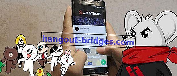 좋은 소식입니다. JalanTikus에 공식 LINE 계정이 있습니다!