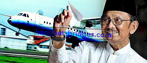 Inilah penemuan BJ Habibie, yang diakui di seluruh dunia, membuat Indonesia bangga!