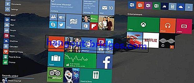 Cara Mengatasi Menu Mula Windows 10 yang Tersekat di Skrin Penuh
