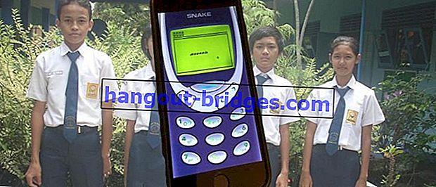 5 permainan Nokia kuno yang menjadikan anda nostalgia, tidak menggunakan internet tetapi sangat menarik!