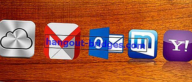 Cara Membuat E-mel Percuma dengan Mudah di Yahoo, Gmail, Outlook, Mail.com dan iCloud!