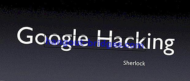 Cara menggunakan Carian Google untuk penggodaman