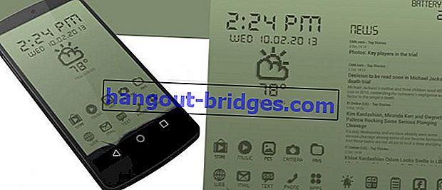오래된 Nokia로 Android의 모양을 변경하는 방법