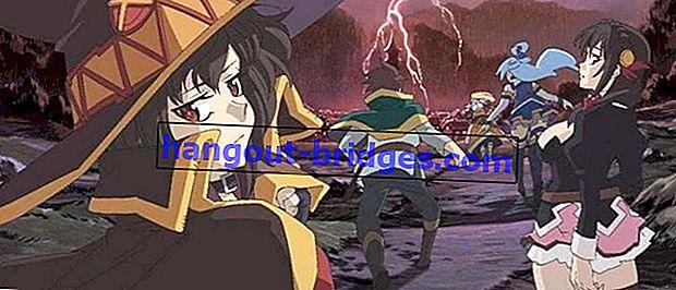 Tonton Filem Konosuba! - Legend of Crimson (2020) | Anime Komedi Isekai